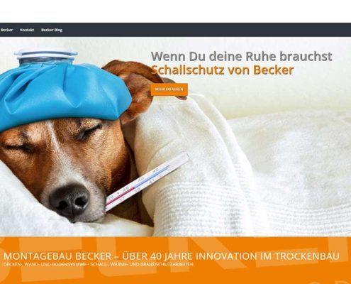 Website Start Becker Hund
